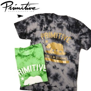 Primitive プリミティブ CULTIVATED WASHED TEE 【Tシャツ/アウトドア/キャンプ/フェス】|snb-shop