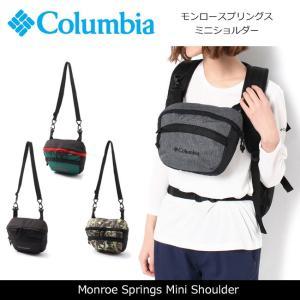 コロンビア Columbia ショルダーバッグ モンロースプリングスミニショルダー Monroe Springs Mini Shoulder PU8104 【カバン】バッグ 日本正規品|snb-shop