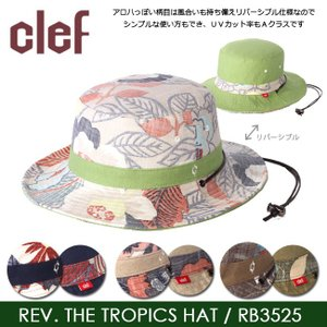 clef/クレ 帽子 ハット REV. THE TROPICS HAT RB3525|snb-shop