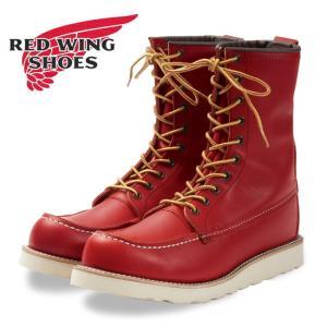 RED WING レッドウイング アイリッシュセッター8インチ モックトゥ Irish Setter / 8 Moc-Toe OroRusset 8877 【アウトドア/ブーツ/靴/ワークブーツ】|snb-shop