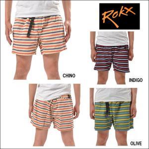 ROKX/ロックス ボーダーズショーツ BORDER'S SHORT/RXMS416 【メール便・代引不可】|snb-shop