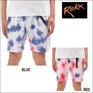 ROKX/ロックス クライミングショーツ FLOWING DYE SHORT/RXMS421 【メール便・代引不可】|snb-shop