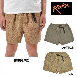 ROKX/ロックス クライミングショーツ PLANTATION PARADISE SHORT/RXMS425 【メール便・代引不可】|snb-shop