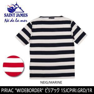 SAINTJAMES セントジェームス Tシャツ PIRIAC