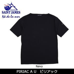 SAINTJAMES セントジェームス Tシャツ 半袖 PIRIAC AU ピリアック 【服】【t-cnr】 メンズ レディース|snb-shop