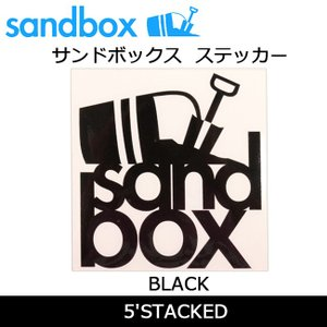 SANDBOX サンドボックス 5'STACKED/BLACK|snb-shop