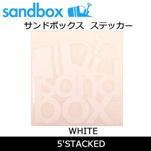 SANDBOX サンドボックス 5'STACKED/WHITE|snb-shop