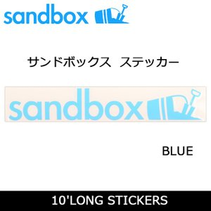 SANDBOX サンドボックス 10'LONG STICKERS/BLUE|snb-shop