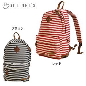 SHE ARE'S/シアーズ 1Pバックパック SHN-500|snb-shop