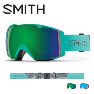 2019 スミス SMITH OPTICS I/O Opal CP Sun Green Mirror / CP Storm Rose Flash  【2019/ゴーグル/日本正規品/ジャパンフィット/アジアンフィット】 snb-shop