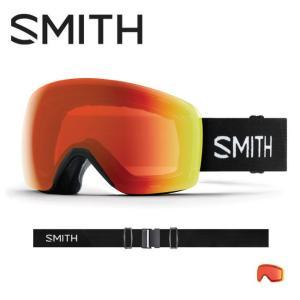 2019 スミス SMITH OPTICS Skyline Black CP Everyday Red Mirror  【2019/ゴーグル/日本正規品/ジャパンフィット/アジアンフィット】 snb-shop