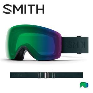2019 スミス SMITH OPTICS Skyline Deep Forest Flood CP Everyday Green Mirror  【2019/ゴーグル/日本正規品/ジャパンフィット/アジアンフィット】 snb-shop