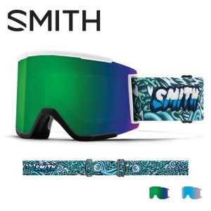 2019 スミス SMITH OPTICS Squad XL Tall Boy CP Sun Green Mirror / CP Storm Rose Flash  【2019/ゴーグル/日本正規品/ジャパンフィット/アジアンフィット】 snb-shop