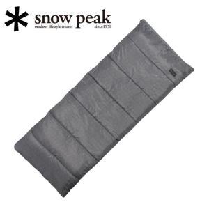 スノーピーク (snow peak) SSシングル BD-105GY 【キャンプ/アウトドア/シェラフ/寝袋】|snb-shop