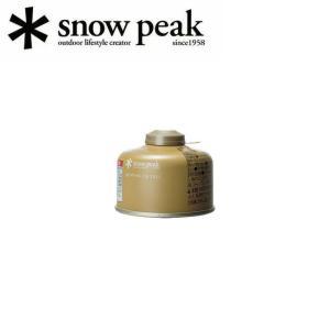スノーピーク (snow peak) ガスカートリッジ GigaPower Fuel 110 Prolso ギガパワーガス 110プロイソ GP-110GR|snb-shop
