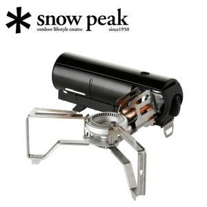 snowpeak スノーピーク HOME&CAMP ホームアンドキャンプ バーナー ブラック GS-...