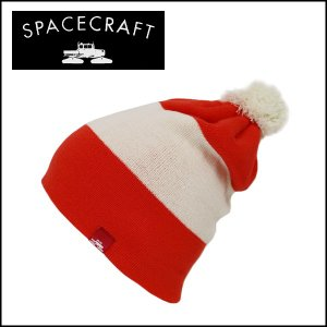 SPACECRAFT/スペースクラフト ビーニー Elliot/Bright Red/Off White 日本正規品 【メール便・代引不可】|snb-shop