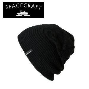 SPACECRAFT/スペースクラフト ビーニー Offender/Black/日本正規品 【メール便・代引不可】|snb-shop