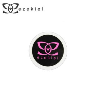 EZEKIEL ステッカー J BLACK 4cm×4cm(円形)|snb-shop