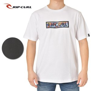 RIP CURL リップカール UNDERTOW BOX SS TEE T01-207 【Tシャツ/半袖/ファッション/アウトドア/キャンプ/フェス】【メール便・代引不可】|snb-shop