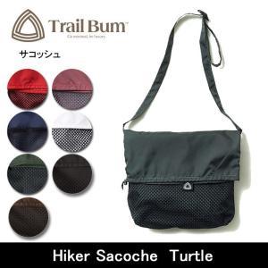 TRAIL BUM トレイルバム サコッシュ Hiker Sacoche Turtle 【カバン】【メール便・代引不可】|snb-shop
