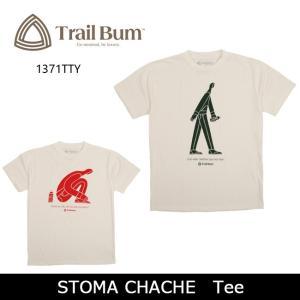 TRAIL BUM トレイルバム Tシャツ STOMA CHACHE Tee 1371TTY メンズ レディース ユニセックス【メール便・代引不可】|snb-shop