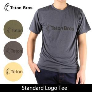 Teton Bros/ティートンブロス Standard Logo Tee TB163-550 TB171-620 【服】 Tシャツ 半袖【メール便・代引不可】|snb-shop