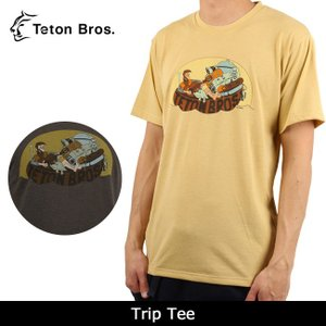 Teton Bros/ティートンブロス Trip Tee TB171-600 【服】 Tシャツ 半袖 ファッション アウトドア フェス【メール便・代引不可】|snb-shop