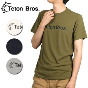 Teton Bros/ティートンブロス Srandard Logo Tee TB181-400 【Tシャツ 半袖 ファッション アウトドア フェス】【メール便・代引不可】|snb-shop