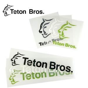 Teton Bros ティートンブロス TB Sticker(6枚入り) TB183-999999 【アウトドア/ステッカー/シール】|snb-shop