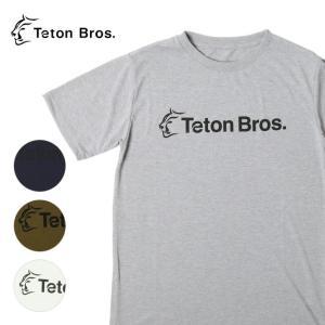 Teton Bros ティートンブロス Srandard Logo Tee TB191-450 【Tシャツ/半袖/メンズ/アウトドア/フェス】【メール便・代引不可】|snb-shop