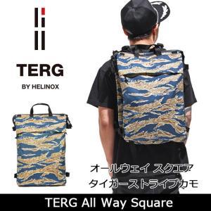 TERG/ターグ デイパック オールウエイスクエア タイガーストライプカモ 19930004 【かばん】 snb-shop