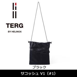 TERG/ターグ サコッシュ V1 (#1) ブラック 19930016001000 【カバン】ショルダーバッグ 鞄【メール便発送・代引不可】|snb-shop