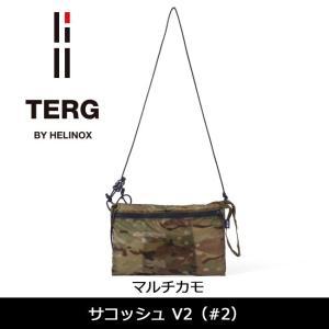 TERG/ターグ サコッシュ V2 (#2) マルチカモ 19930017019000 【カバン】ショルダーバッグ 鞄【メール便発送・代引不可】|snb-shop