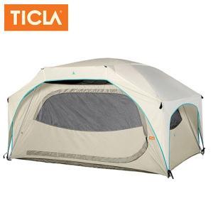 TICLA/ティクラ テント ティーハウス3/オイスターグレー/19950002 アウトドア キャンプ snb-shop
