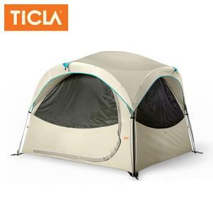 TICLA/ティクラ テント モハビ4/オイスターグレー/19950004 アウトドア キャンプ snb-shop