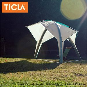 TICLA/ティクラ サンシェード シェイドーペキーニュ/アンティークホワイト/19951003 アウトドア キャンプ snb-shop