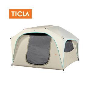 TICLA/ティクラ テント ティーハウス4/アンティークホワイト/19950003 アウトドア キャンプ snb-shop