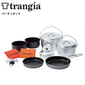 trangia/トランギア パーティ TR-400290 【BBQ】【CKKR】 クッキングセット アウトドア コッヘル フライパン ケトル|snb-shop