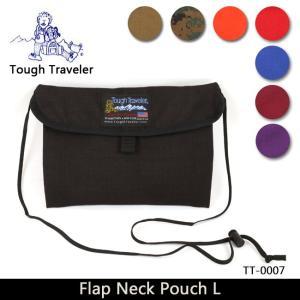 Tough Traveler タフトラベラー サコッシュ Flap Neck Pouch L (フラップ ネックポーチ L) TT-0007 ショルダーバッグ サイクリング【メール便・代引不可】|snb-shop