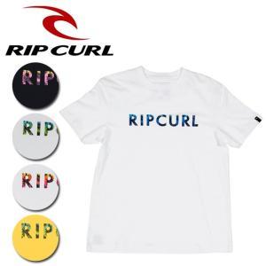 リップカール RIP CURL Tシャツ UNDERTOW S/SL TEE U01-201 【服】【t-cnr】【メール便・代引不可】|snb-shop