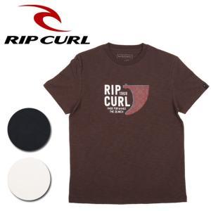 リップカール RIP CURL Tシャツ BREAKWATER SLAB TEE U01-217 【服】【t-cnr】【メール便・代引不可】|snb-shop