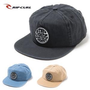 RIP CURL リップカール WASHED WETTY SNAP BACK CAP U02-908 【アウトドア/帽子/キャップ】|snb-shop