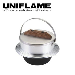 ユニフレーム UNIFLAME 羽釜 キャンプ羽釜 3合炊き  660218 【UNI-COOK】|snb-shop