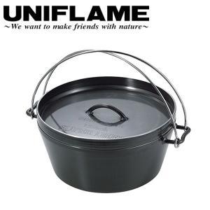 ユニフレーム UNIFLAME ダッチオーブンスーパーディープ 12インチ/660966 【UNI-DTOV】|snb-shop
