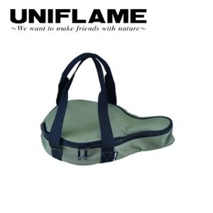 UNIFLAME ユニフレーム スキレット収納ケース 7インチ グリーン 661123 【フライパン...