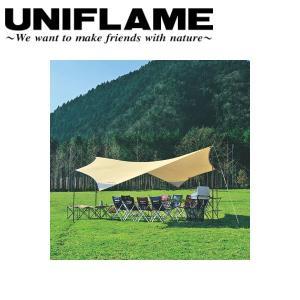 ユニフレーム UNIFLAME タープ/REVOタープ600/681442 【UNI-TENT】|snb-shop