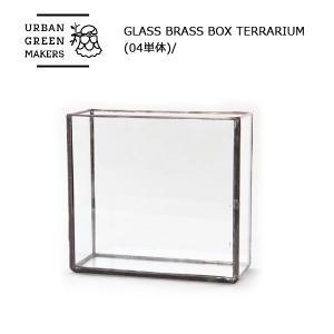Urban Green Makers/アーバングリーンメーカーズ GLASS BRASS BOX TERRARIUM (04単体)/観葉植物 インテリア|snb-shop