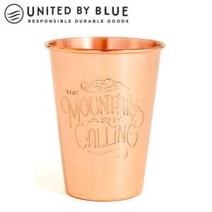 UNITED BY BLUE ユナイテッドバイブルー MOUNTAINS ARE CALLING 16oz COPPER TUMBLER 707-036 【アウトドア/キャンプ/タンブラー】|snb-shop