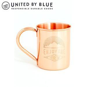 UNITED BY BLUE ユナイテッドバイブルー ENJOY THE VIEW 14oz COPPER MUG 707-039 【アウトドア/キャンプ/マグ】|snb-shop